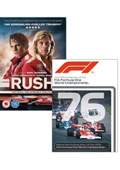 Rush DVD PLUS F1 1976 Season Review DVD