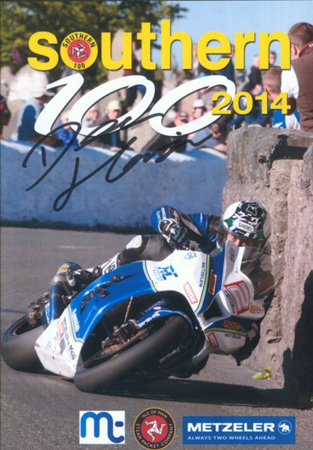 Southern 100 2014 DVD Signed by Dean Harrison