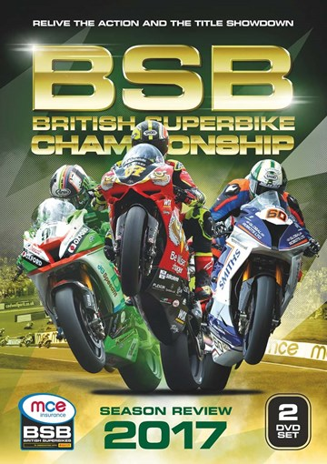 British Superbike 2017 Season Review (2 Disc)  DVD - click to enlarge