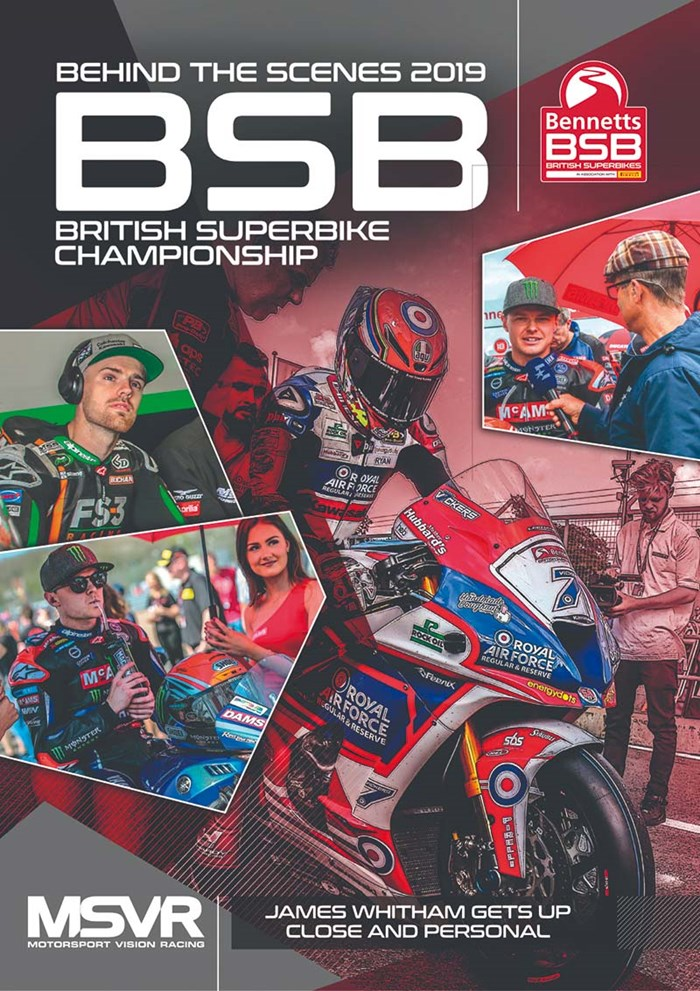British Superbike Behind the Scenes 2019 DVD