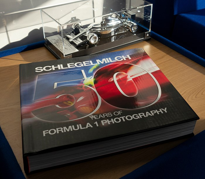 Schlegelmilch 50 Years of Formula One (HB) - click to enlarge