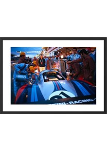 1971 Le Mans 24 Hours, 917 refueled at dusk Limited Edition Framed Print