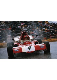 1972 Monaco Grand Prix, Monte Carlo, Niki Lauda, March 721X Ford Print