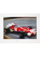 Jacky Ickx Photographic Zoom Print