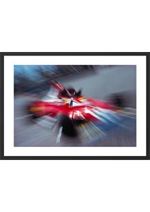 Niki Lauda Zoom Limited Edition Framed Print