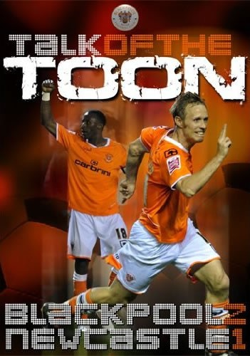 Blackpool 2-1 Newcastle United - Talk of the Toon (DVD) - click to enlarge