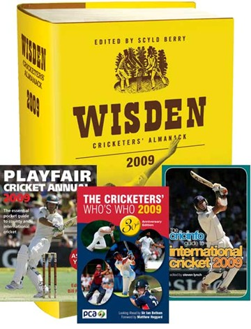 Set of Cricket Annuals 2009 (PB) - click to enlarge