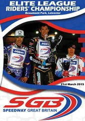 Speedway Great Britain 2015 Elite League Riders' Championship DVD