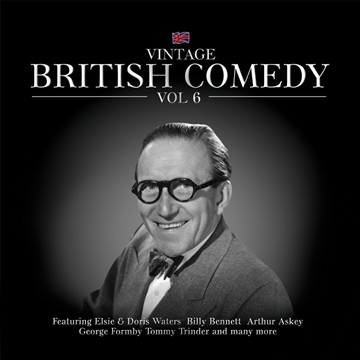 Vintage British Comedy Vol.6 CD - click to enlarge