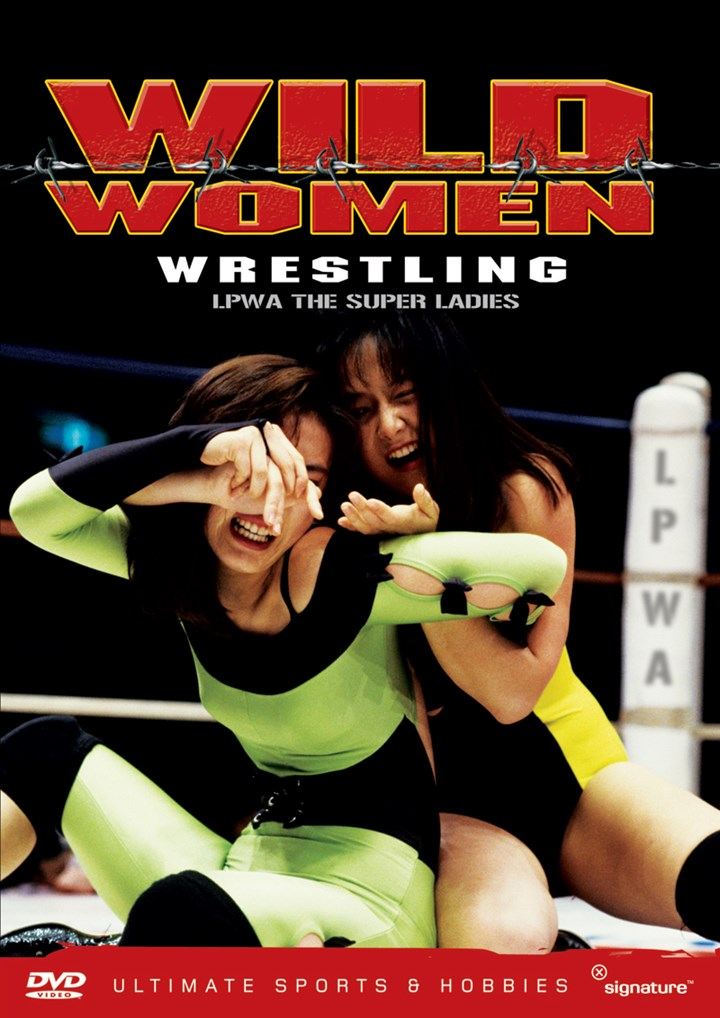 Wild Women Wrestling DVD