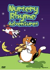 Nursery Rhyme Adventures  DVD