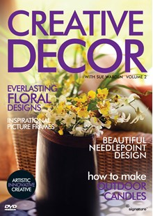 Creative Décor with Sue Warden (Volume 2) DVD