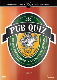 Pub Quiz Volume 1 Interactive DVD