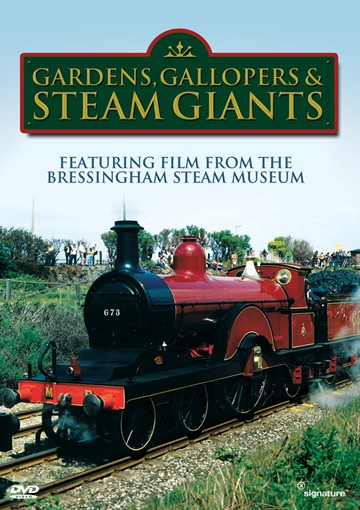 Steam Engines, Gallopers & Gardens DVD - click to enlarge