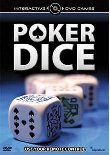 Poker Dice Interactive DVD