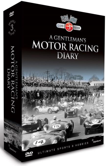 A Gentleman's Motor Racing Diary Vol 1 3DVD Box Set