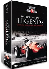 Motor Racing Legends Mike Hawthorn, Rob Walker & Jim Clark (3 DVD) Box Set