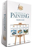 Painting & Drawing Made Easy 3DVD Box Set