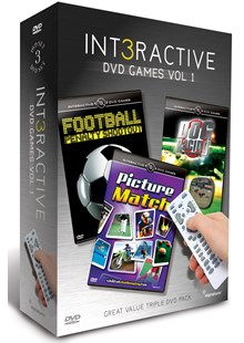 Interactive DVD Game Vol 1s 3DVD  Box Set
