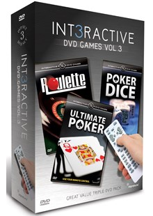 Interactive DVD Games Vol 3 3DVD  Box Set