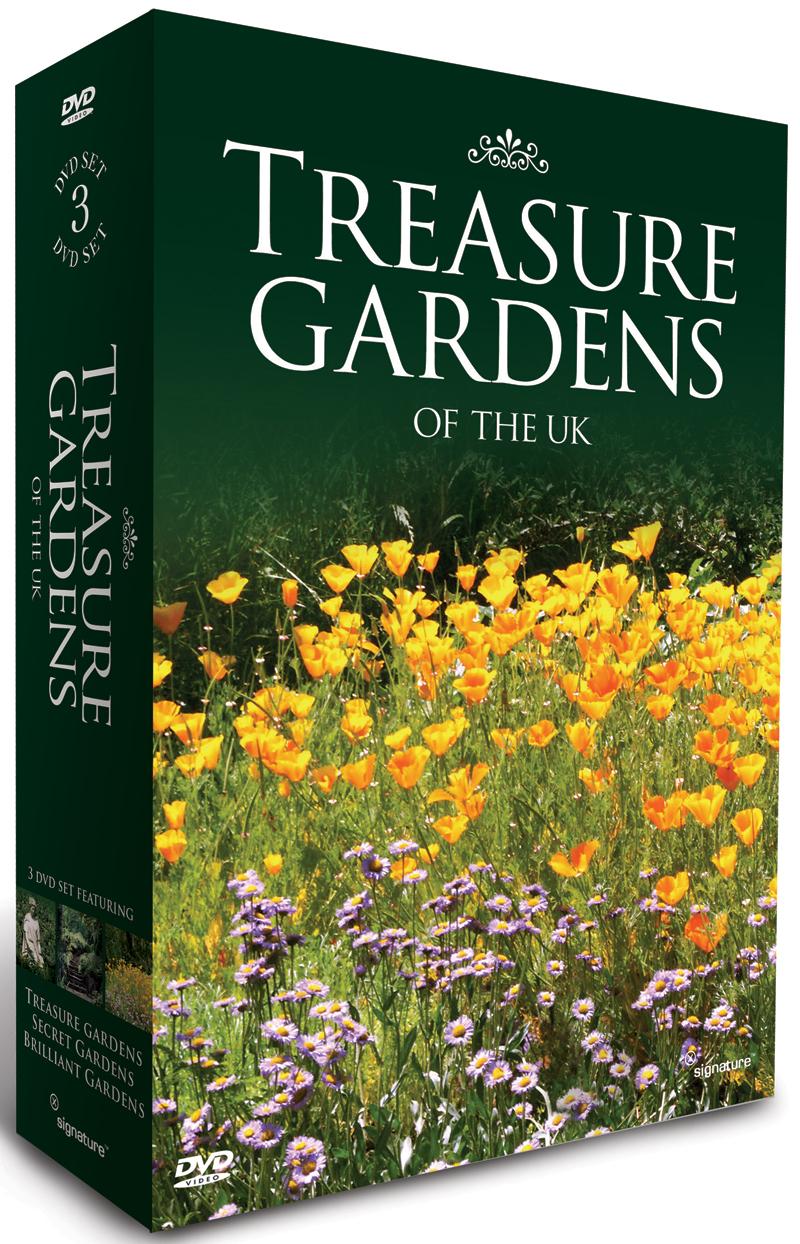 Treasure Gardens Of The UK 3DVD Box Set