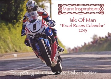 Isle of Man Road Race 2013 Calendar - click to enlarge