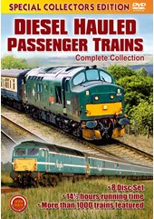Diesel Hauled Passenger Trains (8 DVD) Box Set