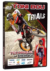 Tony Bou Trials Techniques of Riding  DVD