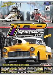 UK Top Sportsman & Top Dragster 2015 DVD