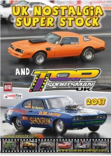 UK Nostalgia Super Stock and UK Top Sportsman 2017 DVD
