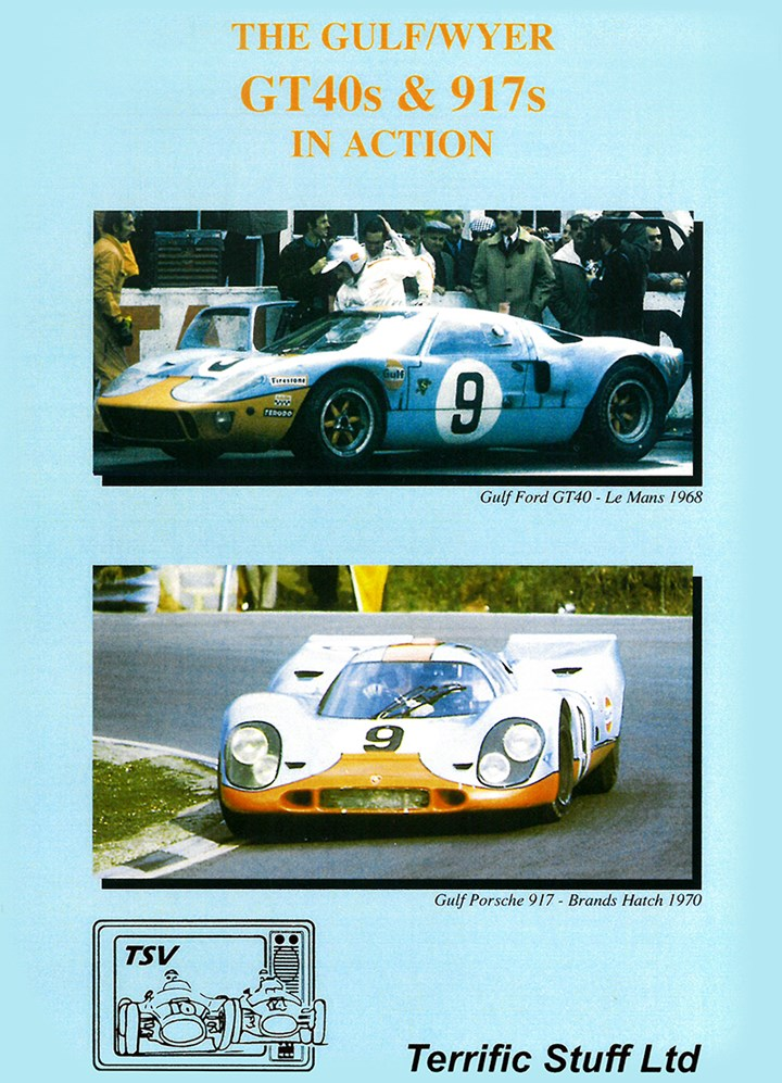 The Gulf/Wyer GT40s & 917s in Action DVD