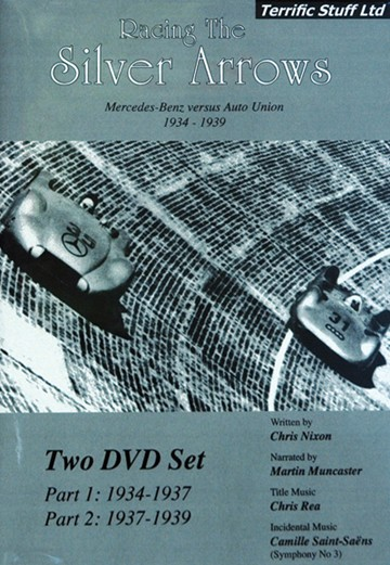 Racing Silver Arrows ( 2 Disc Set) DVD - click to enlarge