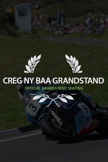 TT 2018 Grandstand Ticket Creg ny Baa - click to enlarge