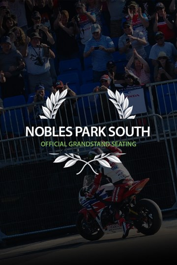 TT 2018 Grandstand Ticket Nobles Park South - click to enlarge