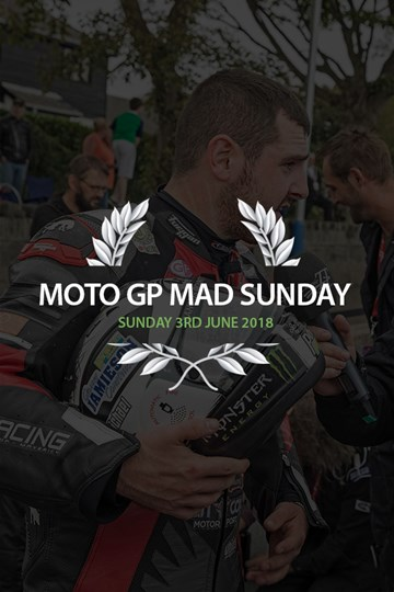TT 2018 TT MotoGP Sunday Lunch 3rd June Ticket - click to enlarge