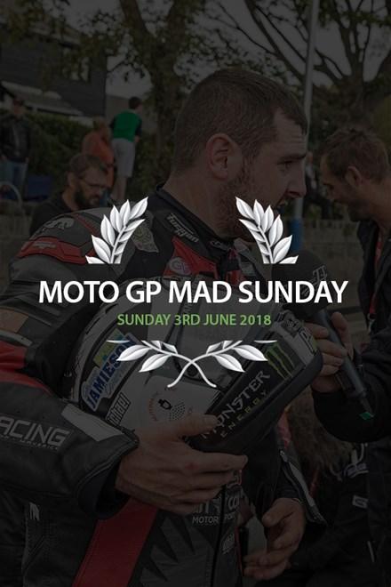 TT 2018 TT MotoGP Sunday Lunch 3rd June Ticket