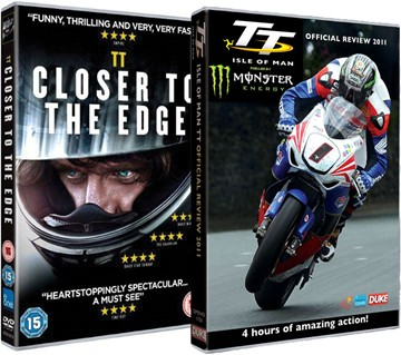 Closer to the Edge DVD & TT 2011 DVD - click to enlarge