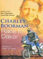 Charley Boorman Race to Dakar Book Duke Stock