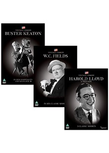 Vintage Comedy Bundle Offer (Buster Keaton, Harold Lloyd and W.C. Fields)
