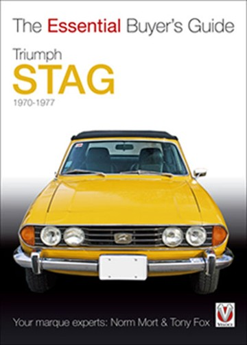 Triumph Stag The Essential Buyer's Guide (PB) - click to enlarge