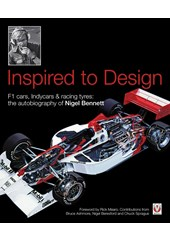 Inspired to Design - the autobiography of Nigel Bennett (HB)