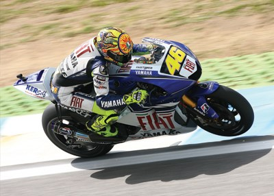 Valentino Rossi Print - click to enlarge