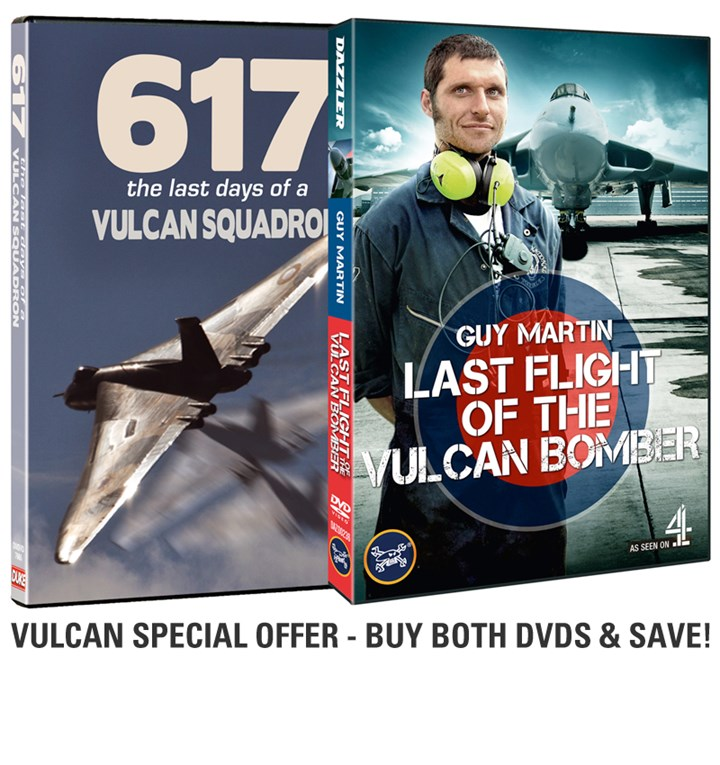 Guy Martin and 617 Sqn Vulcan special offer