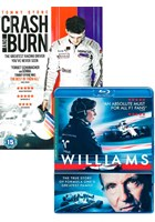 Williams Blu-ray with Crash & Burn DVD