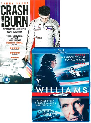 Williams Blu-ray with Crash & Burn DVD - click to enlarge