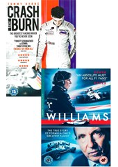 Williams DVD with Crash & Burn DVD