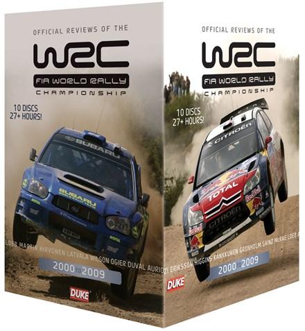 World Rally 2000 - 2009 (10 DVD) Box Set