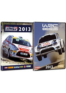 World Rally Championship and British Rally Championship Double Pack 2013