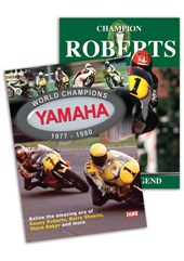 Champions Roberts & Yamaha World Champions DVD Bundle