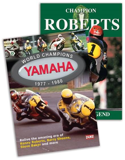 Champions Roberts & Yamaha World Champions DVD Bundle